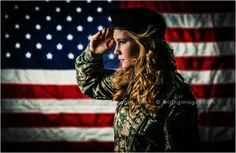 Awesome military senior picture against the American flag. Powerful! #forpapa