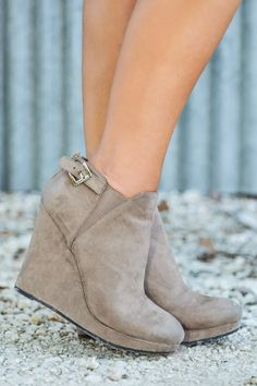 Going Places Bootie-Taupe