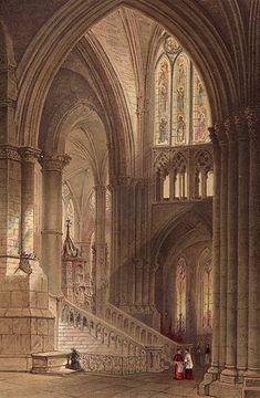Strasbourg Cathedral Knights Templar Freemasonry Masonic Stone Mason 13x19 Print   eBay