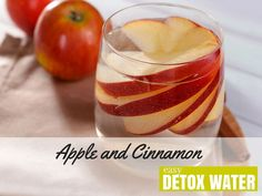 Apple and Cinnamon Detox Water
