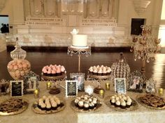 Elegant Cupcake/Cookie Bar