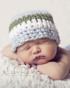 easy crochet pattern baby hat
