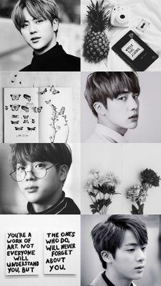 Jin is so handsome! Bts Jin, Bts Bangtan Boy, Bts Boys, Seokjin, Namjoon, Bts Taehyung, Jung Hoseok, Park Jimim, Mundo Musical