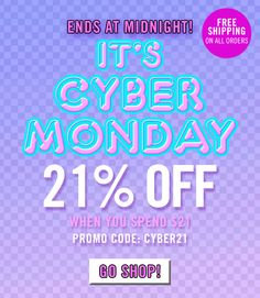 Forever Email Only Flash Sale + Last Chance Cyber Monday Off Last Chance, Cyber Monday, 50th, 21st, Forever 21, Coding, Coupon Codes, Black Friday, Programming