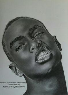 Trabalho concluído desenho realista, segue ai na página:  Makaivio Gama desenhos  Instagram:@makaivio_desenhos