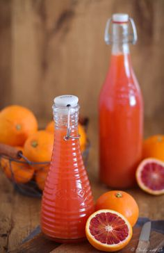 orangensirup-selbstgemacht-grundrezept-cookie-und-co/ - The world's most private search engine Refreshing Drinks, Yummy Drinks, Rumchata Recipes, Law Carb, Best Cocktail Recipes, Herbs For Health, Vegetable Drinks, Healthy Eating Tips, Cookies Et Biscuits