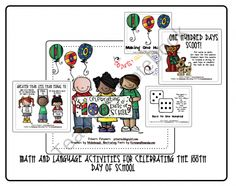 100th Day of School Activities product from Pitners-Potpourri on TeachersNotebook.com