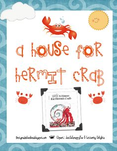 A House for Hermit Crab and Freebie - First Grade Blue Skies