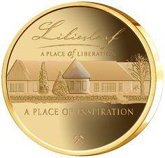Mandela Liliesleaf 1/2oz Gold Medallion Gold Medallion, Coin Collecting, Gold Coins, Inspiration, Gold Locket, Biblical Inspiration, Inspirational, Inhalation