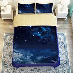 Galaxy bed sheet set Blue outer space night galaxy themes... https://www.amazon.com/dp/B01A22JJU2/ref=cm_sw_r_pi_dp_xOCHxbTF4QW1M
