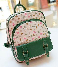 stacy bag new hot sale women fashion print backpacks female Preppy PU fresh  sweet girl s travel d01a830ebb881