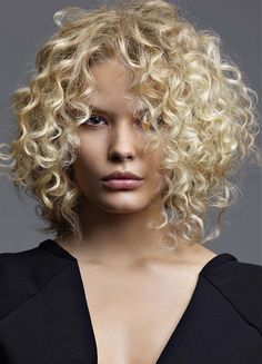 curly Hair Hairstyle by Jean Marc Maniatis