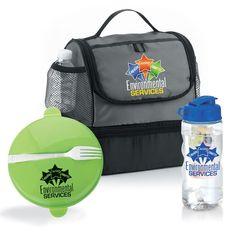 Bayport Lunch Bag, Food Container & Fruit Infuser Water Bottle