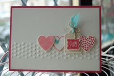 Hearts a Flutter, Pretty Petites, Adorning Accents embossing folder
