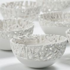 Tangled web ceramics by Timea Sido