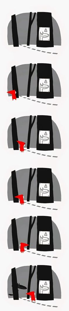 Little Red Riding Hood - Le petit Chaperon Rouge - Matthieu Maudet