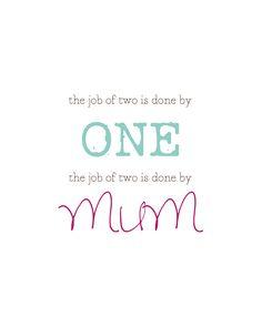 Inspiration for a single mom