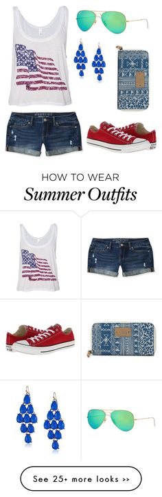 """Merican"" by jenannd on Polyvore"