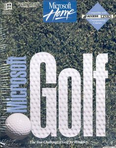 MICROSOFT GOLF 1.0 MULTIMEDIA EDITION +1Clk Windows 10 8 7 Vista XP Install