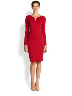 Classic Shaping Red Dress: By Fifth Avenue