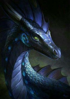Dragón oscuro de luz