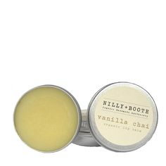 Nilly + Booth Vanilla Chai Organic Lip Balm – Natural Supply Co