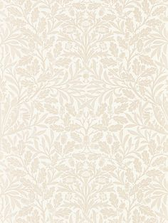 Buy Charcoal / Gilver Morris & Co. Pure Acorn Wallpaper from our Wallpaper range at John Lewis & Partners. Free Delivery on orders over William Morris Wallpaper, Morris Wallpapers, Vintage Wallpaper Patterns, Pattern Wallpaper, Framing Canvas Art, Cream Wallpaper, Interior Design Boards, Textiles, Ivory Pearl