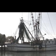 Shrimp boat, SC