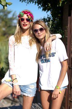 coachella 2014 poppy & cara delevingne