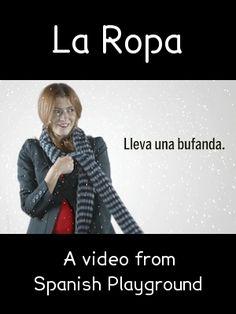 Spanish+Words+Kids+Love+Video:+La+Ropa
