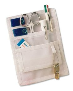 ADC 216 Pocket Pal II Organizer, White with Royal Blue Velcro ** Check this awesome product by going to the link at the image.