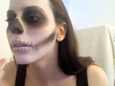 Skull Makeup Tutorial by Gearbunny Part 2