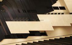 Auditorium of Finlandia Hall by Alvar Aalto