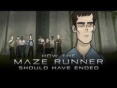 How It Should Have Ended - Maze Runner Movie - #movie #funny