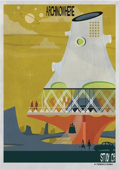 ARCHINOWHERE: El universo paralelo arquitectónico de Federico Babina