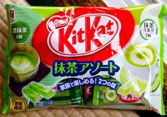 Kit Kat…green tea flavored