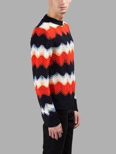MAISON MARGIELA Maison Margiela Men'S Multicolor Sweater. #maisonmargiela #cloth #knitwear