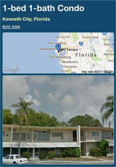 1-bed 1-bath Condo in Kenneth City, Florida ►$22,500 #PropertyForSale #RealEstate #Florida http://florida-magic.com/properties/13121-condo-for-sale-in-kenneth-city-florida-with-1-bedroom-1-bathroom