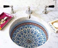 oriental sink