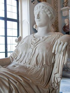 Helena, mother of Roman Emperor Constantine I, once thought to be Agrippina the Younger mother of the emperor Nero, 4th century CE