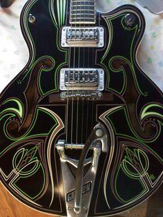 Guitar Pinstriping