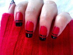 Sexy Red Nail Designs: Red Nail Art Designs ~ fixstik.com Nail Colors Inspiration