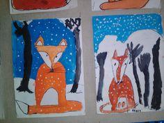 Moose Art, Winter, Animals, Painting, Winter Time, Animales, Animaux, Painting Art, Animal