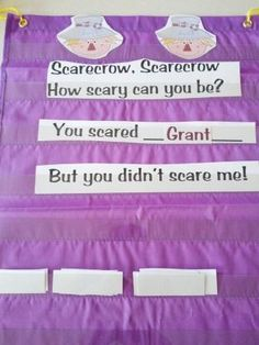 Scarecrow Poems - Scarecrow Theme/Unit - great ideas and more.