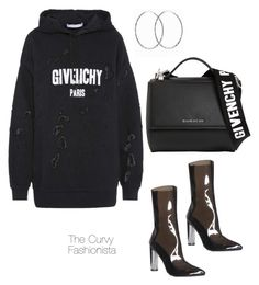 """""""Untitled #1008"""" by thecurvyfashionistaa ❤ liked on Polyvore featuring Givenchy"""