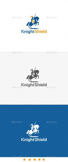 Knight Shield Logo Template Vector EPS, AI #logotype Download: http://graphicriver.net/item/knight-shield/11034137?ref=ksioks