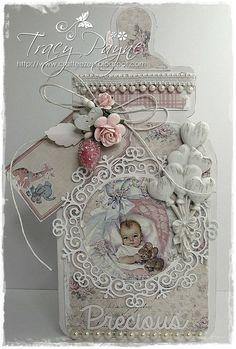 Crafteezee: Maja Vintage Baby Gift Set