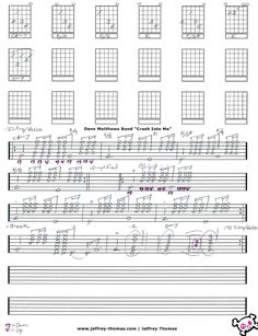 Dave Matthews Band Chords & Tabs - Ultimate Guitar Archive