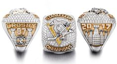 Here's what the Penguins 2017 championship rings look like Stanley Cup Rings, Pittsburgh Penguins Stanley Cup, Pittsburg Pa, Hockey Hall Of Fame, Carnegie Museum Of Art, Hockey Puck, Hockey Games, Field Hockey, Ice Hockey
