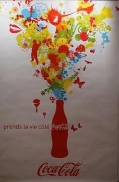 Auctions ANONYME PRENDS LA VIE COTÉ COCA COLA, Circa 2006 Imp.Nanterre.…